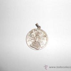Medallas condecorativas: ANTIGUA MEDALLA ESCOLAR/RELIGIOSA:CATECISMO.ESTE ES EL CAMINO PARA LLEGAR A MI. Lote 36038822