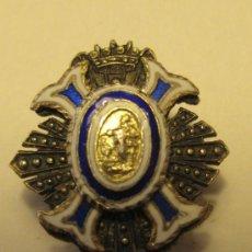 Medallas condecorativas: PIN MERITO CIVIL, SIN INSCRIPCION. PLATA Y ESMALTES. 2 X 1,8 CM. PESO: 5 GR. Lote 36152869