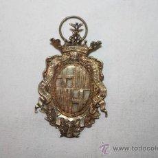 Medallas condecorativas: PIN049 CUATRO MEDALLAS DE PREMIO A LA APLICACIÓN DEL AYUNTAMIENTO DE BARCELONA. PRINC. S. XX. Lote 36214909