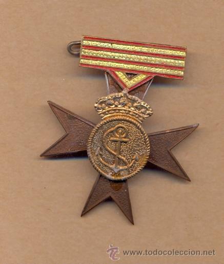 MON 765 PRUEBA DE CONDECORACIÓN SIN ESMALTAR 47 X 40 MM 13 GRAMOS (Numismática - Medallería - Condecoraciones)