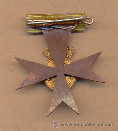 Medallas condecorativas: MON 765 PRUEBA DE CONDECORACIÓN SIN ESMALTAR 47 X 40 MM 13 GRAMOS - Foto 3 - 37637020