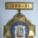 Medallas condecorativas: PRECIOSA MEDALLA ESMALTADA LA SALLE BONANOVA CURSO 1960-1961 . Lote 40361771