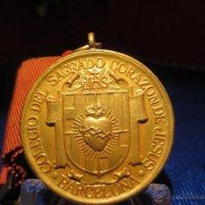 Medallas condecorativas: PREMIO DE APROVECHAMIENTO , MEDALLA DE ESCUELA, BARCELONA. Lote 41097674