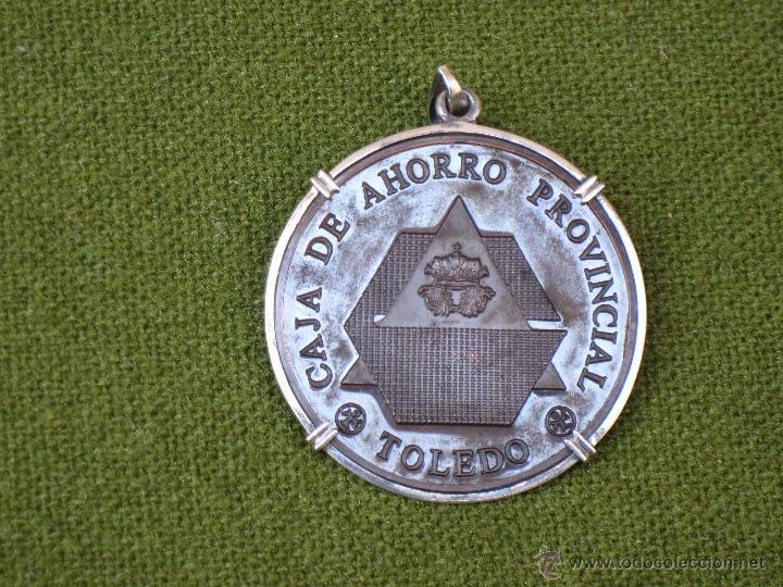 MEDALLA CORPORATIVA ANTIGUA DE LA CAJA DE AHORRO PROVINCIAL DE TOLEDO. 1960 (Numismática - Medallería - Condecoraciones)