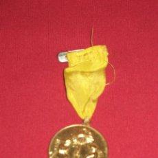 Medallas condecorativas: MEDALLA DORADA DEL CONGRESO EUCARISTICO DE ALMAGRO - CIUDAD REAL - ABRIL MAYO 1958. Lote 45122797