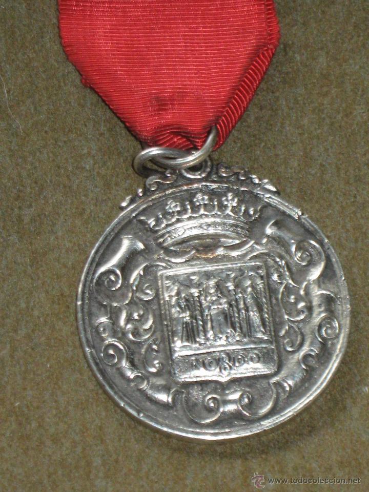Medallas condecorativas: MEDALLA CATEGORIA DE PLATA CONDECORACION - BOMBEROS - SEVILLA - PREMIO AL VALOR - AÑOS 60/70 - Foto 2 - 45549002