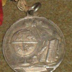 Medallas condecorativas: MEDALLA PREMIO COLEGIO - PREMIO A LA APLICACION - METAL PLATEADO. Lote 45561125