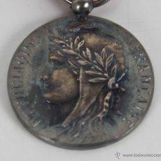 Medallas condecorativas: M-342. MEDALLA REPUBLIQUE FRANÇAISE A F. LLANES. 1975. CON ESTUCHE. . Lote 61308870