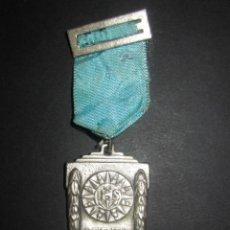 Medallas condecorativas: MEDALLA ESCOLAR.SCIENTA FIDES ARS.IHS. Lote 46043933