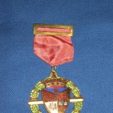 Medallas condecorativas: MEDALLA LAUREADA ESMALTADA CON PASADOR ROJO - COLEGIO PORTACELI - SEVILLA. Lote 46337105