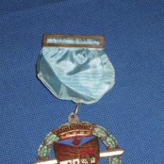 Medallas condecorativas: MEDALLA LAUREADA ESMALTADA CON PASADOR AZUL - COLEGIO PORTACELI - SEVILLA. Lote 46389562