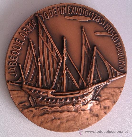 Medallas condecorativas: LOTE DE MEDALLAS SALON NAUTICO INTERNACIONAL BARCELONA 1972 Y 1973 COBRE IDEAL COMENZAR COLECCION - Foto 6 - 46868717