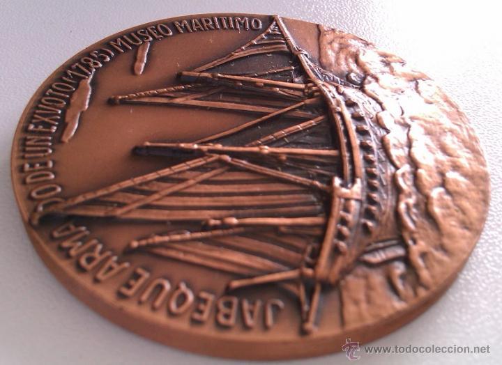 Medallas condecorativas: LOTE DE MEDALLAS SALON NAUTICO INTERNACIONAL BARCELONA 1972 Y 1973 COBRE IDEAL COMENZAR COLECCION - Foto 7 - 46868717