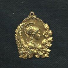 Medallas condecorativas: MEDALLA ESCOLAR. PREMIO AL MERITO. 1910?. Lote 47358844