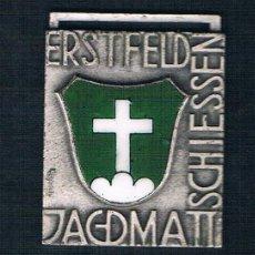 Medallas condecorativas: ERSTFELD JAGDMATT SCHIESSEN. CRUZ BLANCA. Lote 47474062