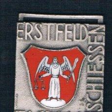 Medallas condecorativas: ERSTFELD JAGDMATT SCHIESSEN. ANGEL. Lote 47474286