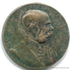 Medallas condecorativas: CONDECORACIÓN DE FRANCISCO JOSE I EMPERADOR DE AUSTRIA. 50 ANIVERSARIO DE SU REINADO. 35 MM . Lote 48004838