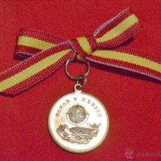 Medallas condecorativas: ANTIGUA MEDALLA HONOR Y MERITO PRENIO A LA APLICACIÓN. Lote 48415117