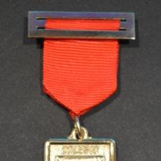 Medallas condecorativas: MEDALLA CINTA Y PASADOR COLEGIO NELLY BARCELONA. Lote 49016085