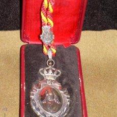 Medallas condecorativas: MEDALLA DE LA REAL ACADEMIA DE BUENAS LETRAS DE SEVILLA - ESTUCHE ORIGINAL - PLATA. Lote 49183539