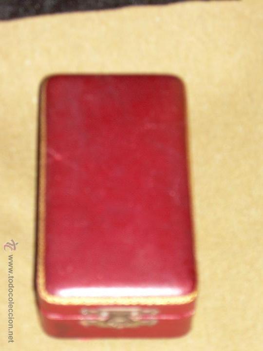 Medallas condecorativas: MEDALLA DE LA REAL ACADEMIA DE BUENAS LETRAS DE SEVILLA - ESTUCHE ORIGINAL - PLATA - Foto 5 - 49183539
