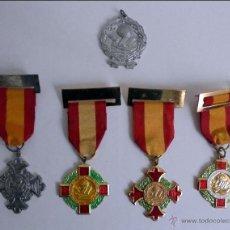 Medallas condecorativas: MEDALLAS PREMIO AL MERITO.AÑOS 30/40. Lote 96194911