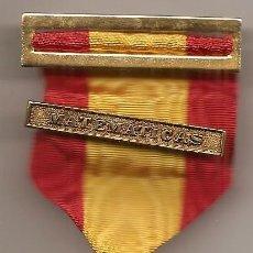Medallas condecorativas: MEDALLA ESCOLAR O COLEGIAL. MATEMÁTICAS. Lote 50573489