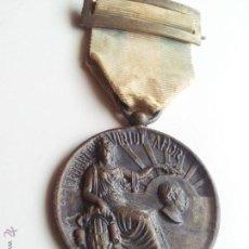 Medallas condecorativas: ANTIGUA Y RARA MEDALLA PLATA---,AYUNTAMIENTO TARRAGONA A LA SOCIEDAD CORAL EL ANCORA..1926. Lote 50756549