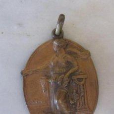 Medallas condecorativas: MEDALLA PREMIO FIRMEZA ESCRUPULOSIDAD. BARCELONA 18 DE JULIO 1946. FRANCO. Lote 50982173