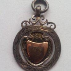 Medaglie condecorativas: ANTIGUA MEDALLA COLGANTE DE PLATA 1925. Lote 51075921