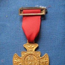 Medallas condecorativas: MEDALLA CON PASADOR - LEGION DE HONOR LABOREMUS - TRABAJO . Lote 51671441