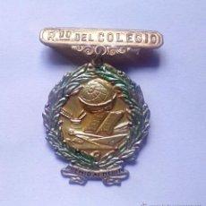 Medallas condecorativas: RECUERDO DEL COLEGIO. PREMIO AL MERITO, MEDALLA DE COLEGIO. Lote 51781926