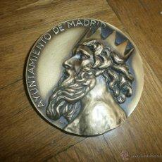 Medallas condecorativas: MEDALLA DE BRONCE AL MÉRITO DEPORTIVO. AYUNTAMIENTO DE MADRID. FIRMA PARÉS. Lote 52926793