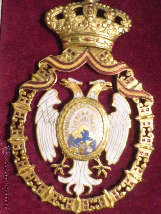 Medallas condecorativas: Medalla de Oro de la Feria de Navidad del Retiro de Madrid de 1927 ( es plata dorada) - Foto 6 - 53212196
