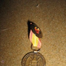 Medallas condecorativas: MINIATURA DE MEDALLA CON BOTON 2 CM DIAMETRO - XXV ANIVERSARIO SERVICIO NACIONAL DEL TRIGO 1937/1962. Lote 53420234