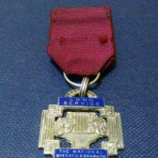 Medallas condecorativas: MEDALLA PLATA LONG SERVICE. Lote 54578883