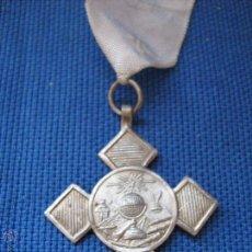 Medallas condecorativas: ANTIGUA MEDALLA ESCOLAR - PREMIO AL MERITO - PLATEADA. Lote 54872321