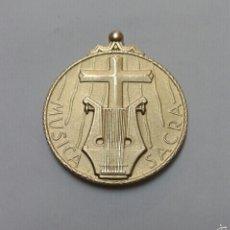 Medallas condecorativas: SUECIA MEDALLA PLATA MUSICA SACRA SVERIGES KYRKOSANGSFORBUND PLATA, MUY RARA. Lote 56484243
