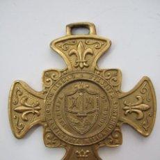Medallas condecorativas: MEDALLA DE HONOR - COLEGIO SANTA MARIA DE LA VICTORIA - HERMANOS MARISTAS - MALAGA - BRONCE. Lote 56535460