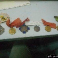 Medallas condecorativas: LOTE MEDALLA PREMIOS ANTIGUAS COLECCION. Lote 57968311