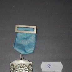 Medallas condecorativas: 918- MEDALLA ESCOLAR DE PREMIO CENTRO CULTURAL CATOLICO -LA CORUÑA IHS. SCIENTIA FIDES ARS 1938 Nº 5. Lote 58013977