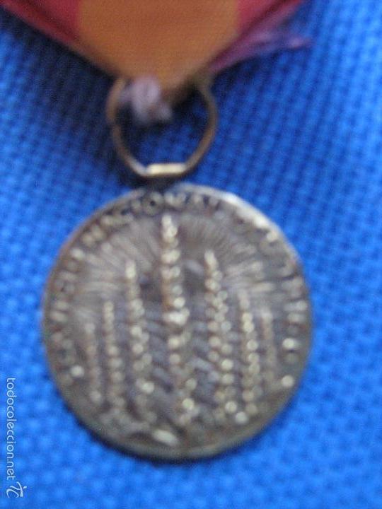Medallas condecorativas: MINIATURA DE MEDALLA PASADOR 2 CM DIAMETRO - XXV ANIVERSARIO SERVICIO NACIONAL DEL TRIGO 1937/1962 - Foto 2 - 58299481