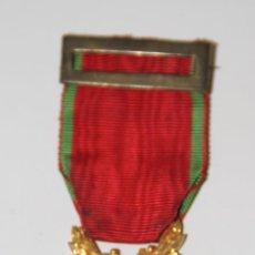 Medallas condecorativas: MEDALLA DE LAS LETRAS, ARTES, CIENCIAS Y DEPORTES. METAL Y ESMALTE. FRANCIA. Lote 112377054