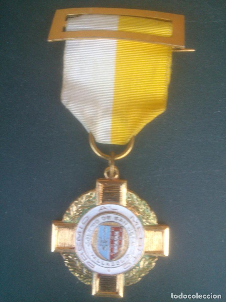 ANTIGUA MEDALLA COLEGIO.PREMIO AL MERITO SAN JOSE VALLADOLID (Numismática - Medallería - Condecoraciones)