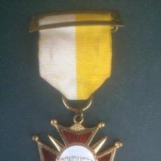 Medallas condecorativas: ANTIGUA MEDALLA COLEGIO.PREMIO CONDUCTA. Lote 61631128