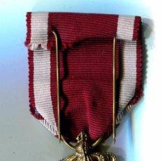 Medallas condecorativas: BELGICA. CONDECORACIÓN DE LA ORDEN DE LA CORONA, ORO. LEOPOLDO II. Lote 62384792