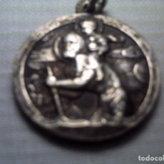 Medallas condecorativas: MEDALLA AL MÉRITO DE PLATA O BAÑO DE PLATA. SAN CRISTOBAL. Lote 62420564