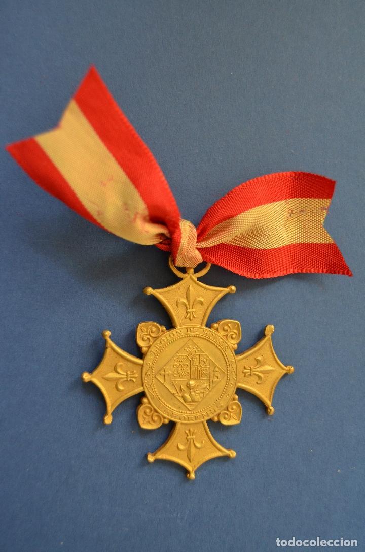 MEDALLA LEGION DE HONOR LABOREMUS (Numismática - Medallería - Condecoraciones)