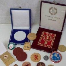 Medallas condecorativas: GRAN LOTE DE DIFERENTES PREMIOS Y CONDECORACIONES DEPORTIVAS Y OTRAS DE ALEMANIA . . . . Lote 66914646