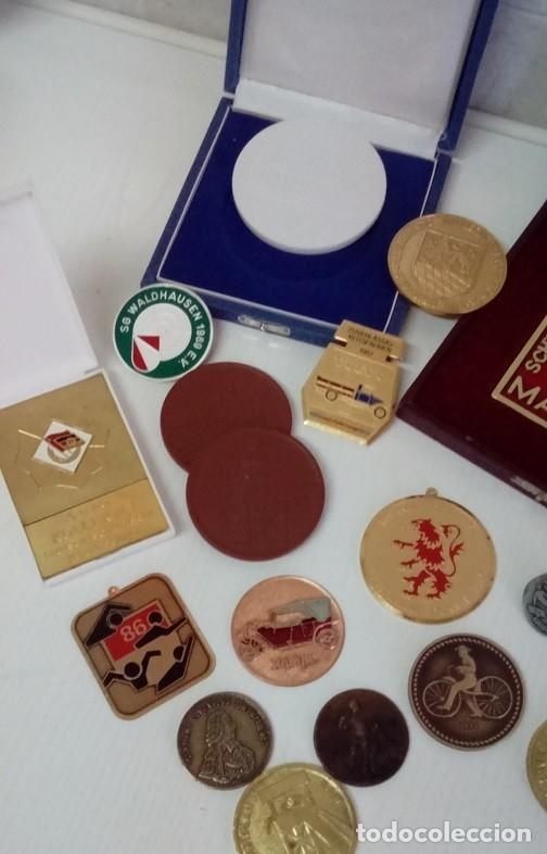 Medallas condecorativas: GRAN LOTE DE DIFERENTES PREMIOS Y CONDECORACIONES DEPORTIVAS Y OTRAS DE ALEMANIA . . . - Foto 5 - 66914646